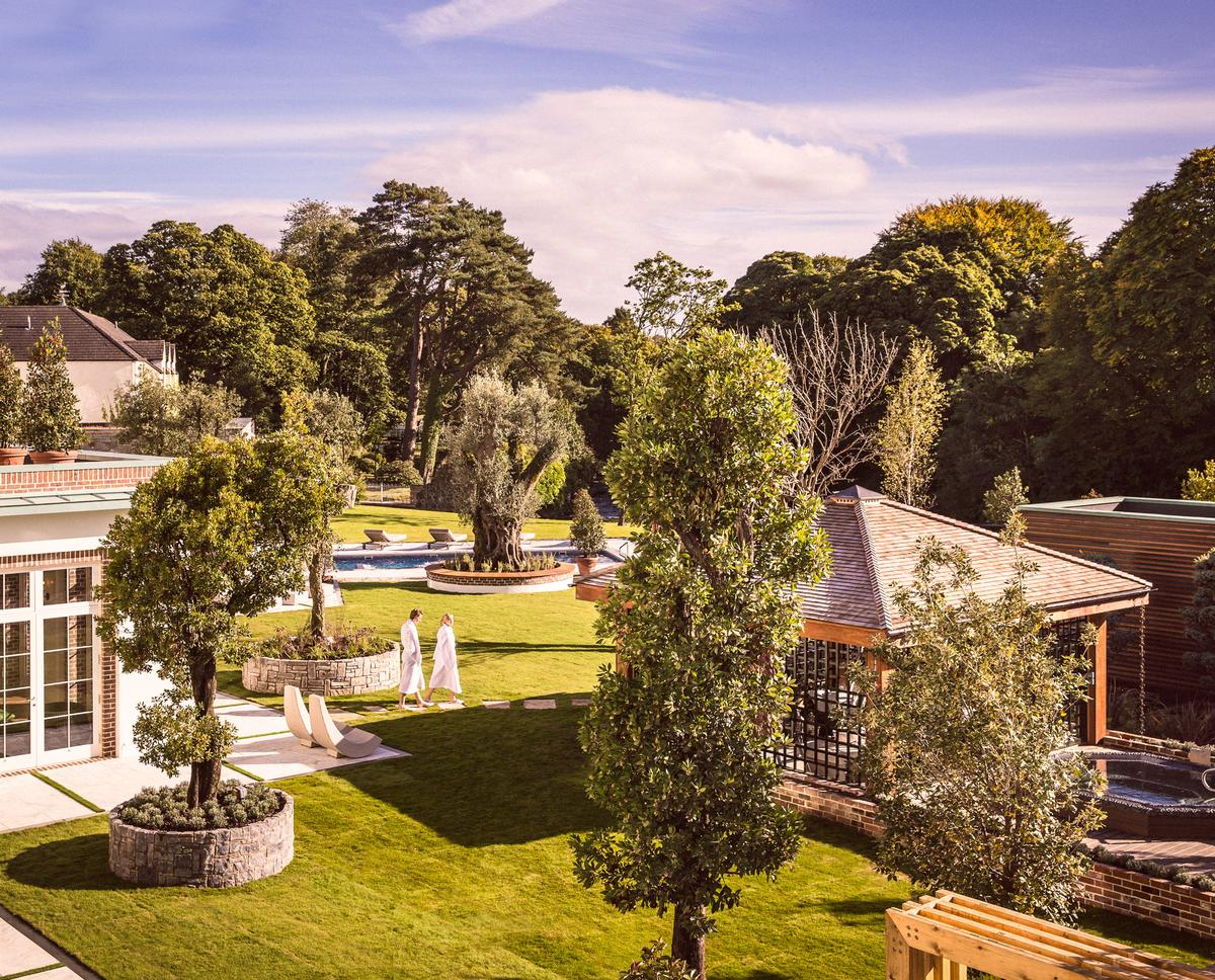 The Galgorm Resort & Spa now has 75,000sq ft (6,968sq m) of picturesque riverside spa facilities / Galgorm