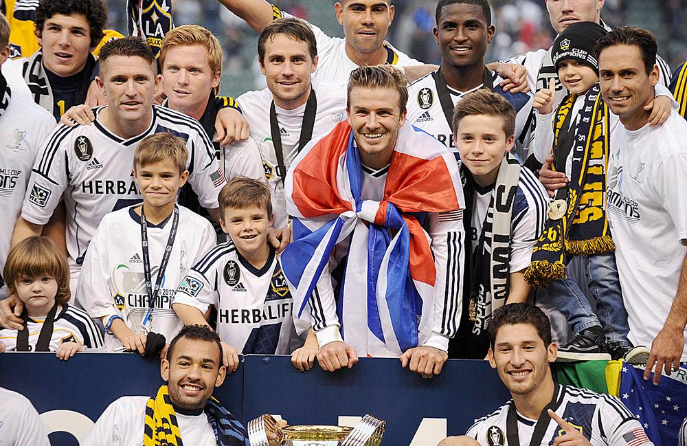 Beckham is determined to bring MLS soccer to the city of Miami  / PA images