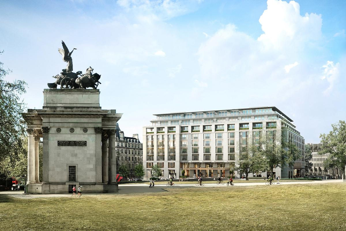 hopkins architects behind plans for 500m peninsula london hotel