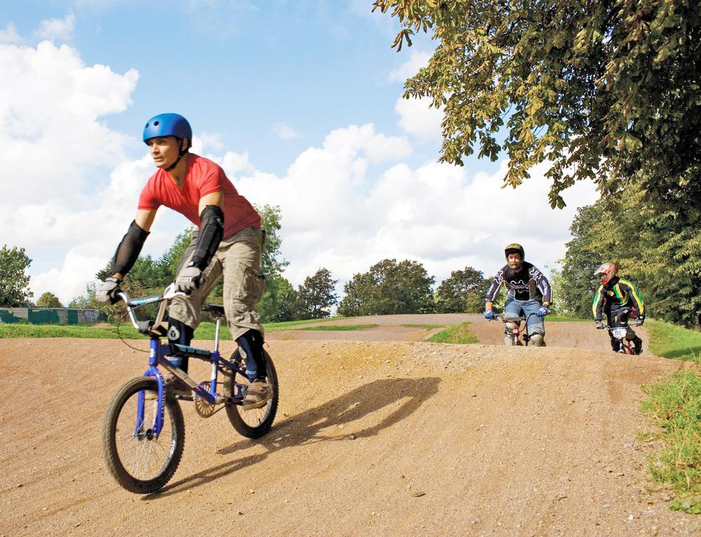 Part of a facilities grant will be spent on BMX pump tracks