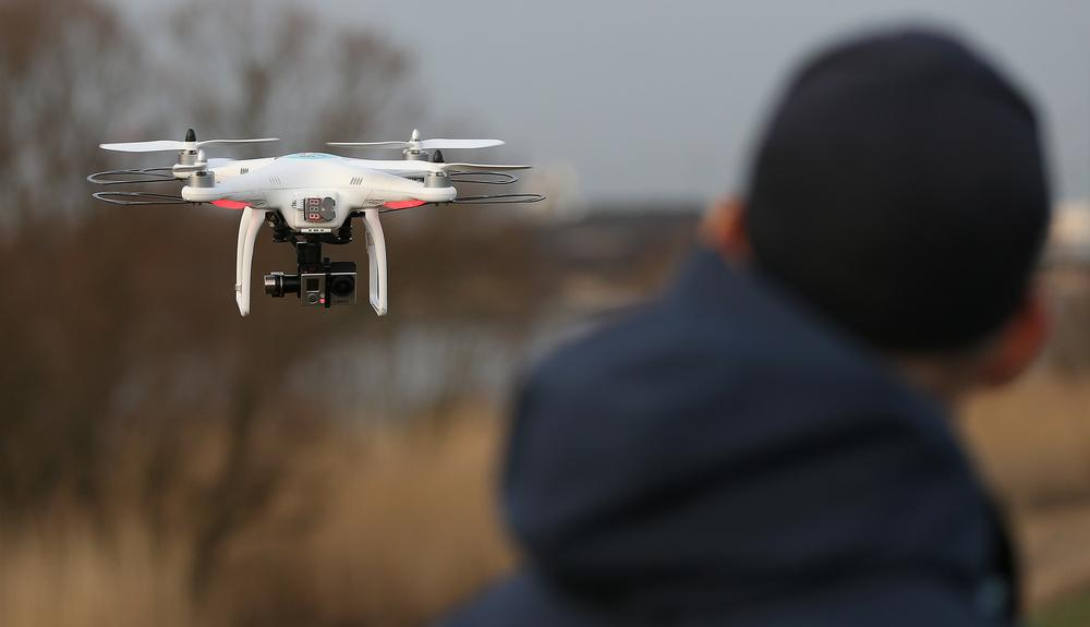Clubs can take the footage captured by drones and use it for crucial player feedback / axel heimken / press association