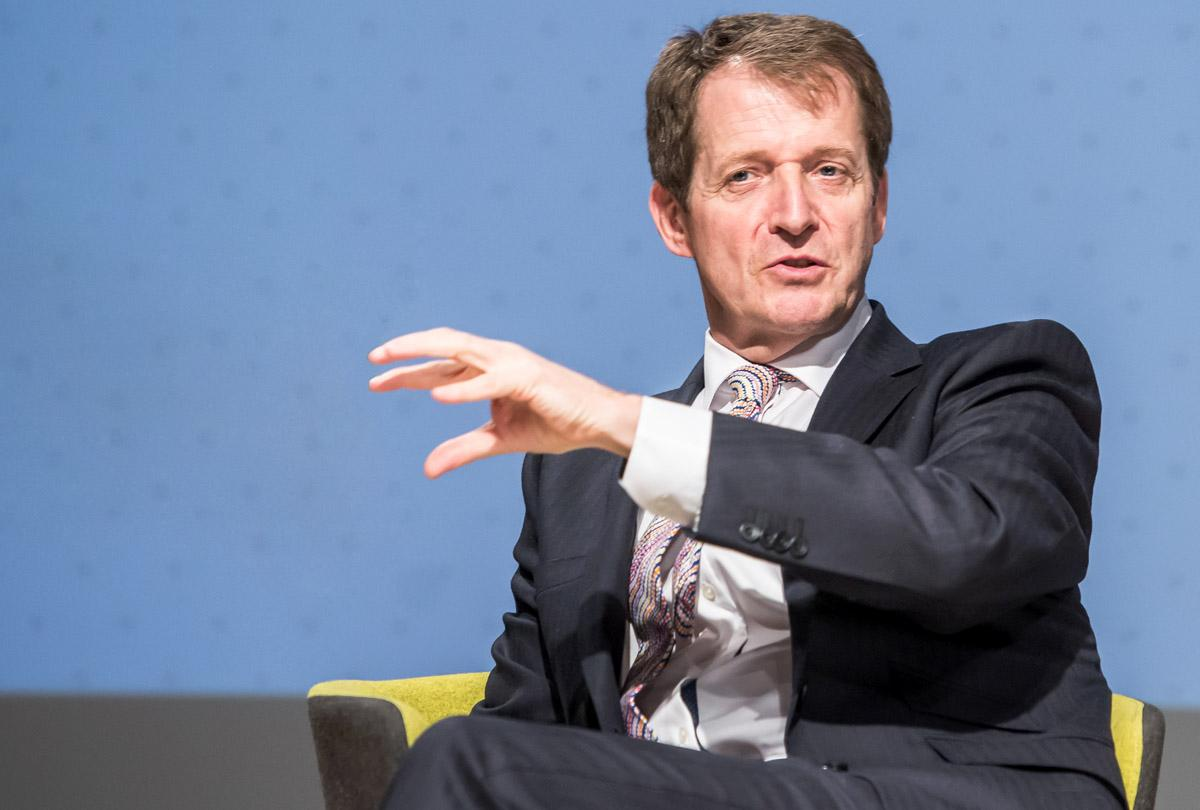 Alastair Campbell, the former director of communications and strategy for Tony Blair's Labour government, will be among the speakers / Flickr: Salforduniversity