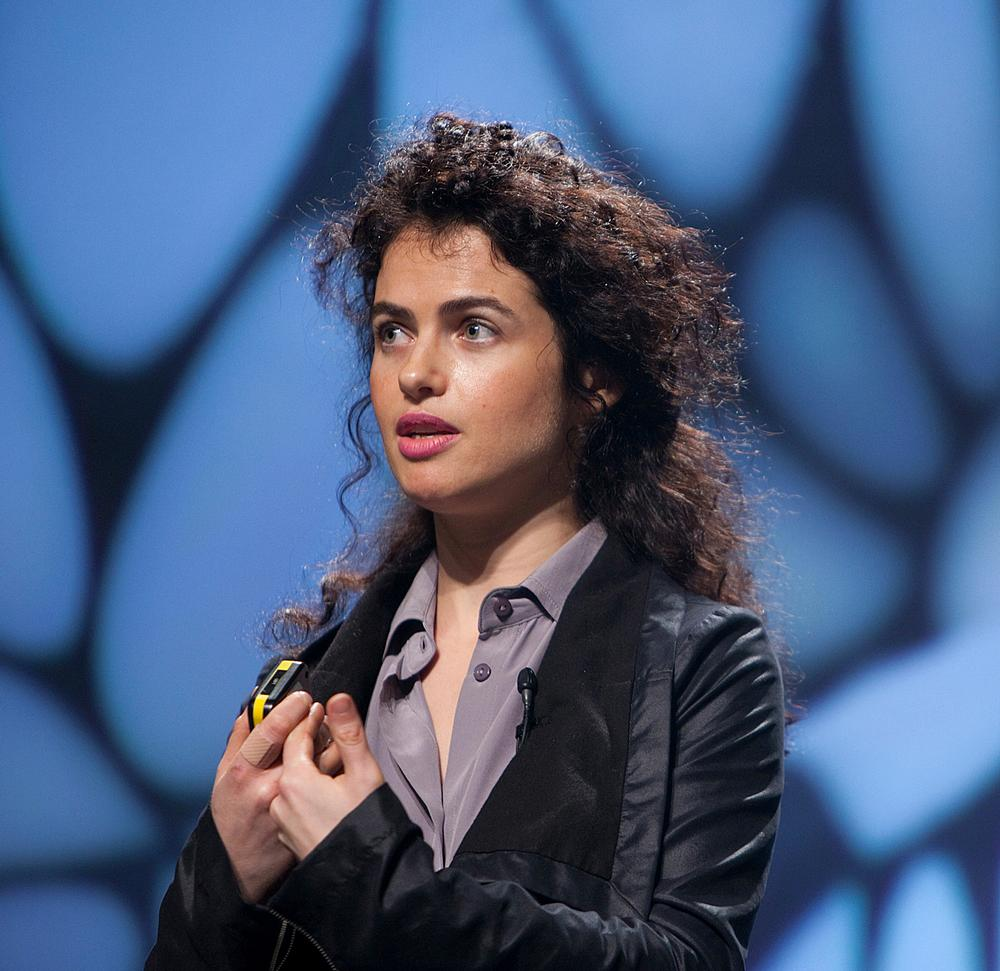 Architect Neri Oxman led the research team that developed the Silk Pavilion