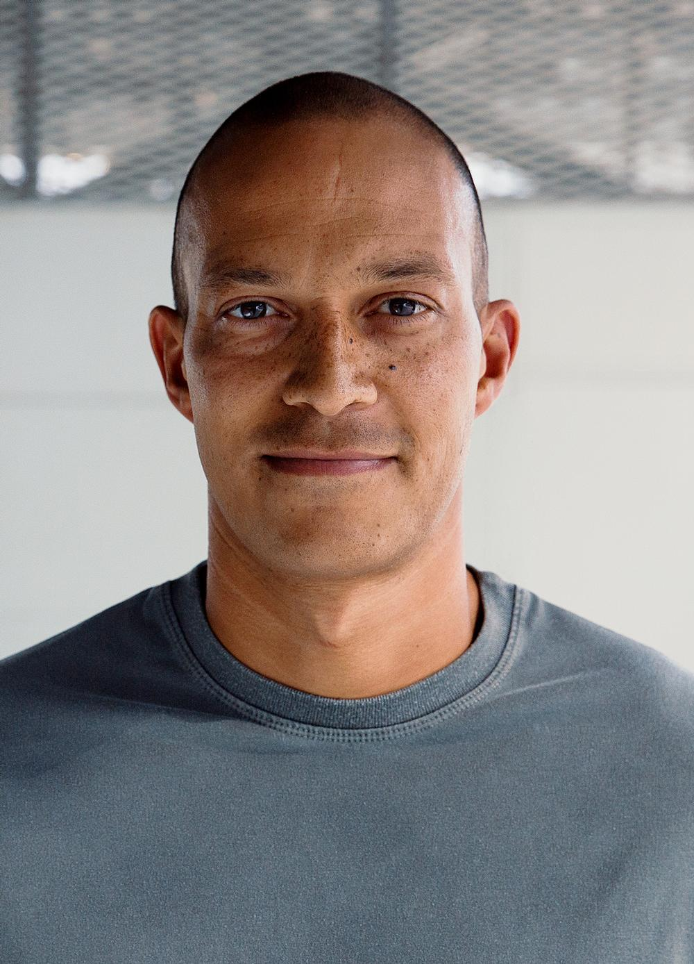 Former player Bobby Zamora says he wants to make a real difference / portraits by Jake Ratcliffe