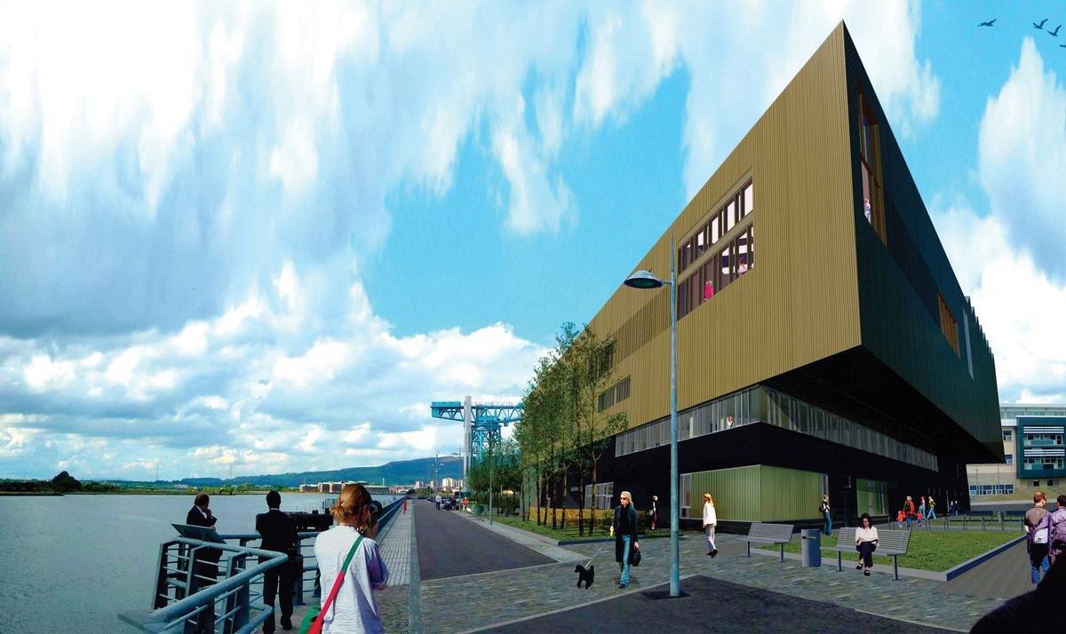 The centre is the first in a series of developments to revitalise Queen's Quay