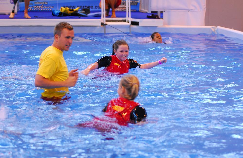 The STA Swim Zone will host a range of live classes