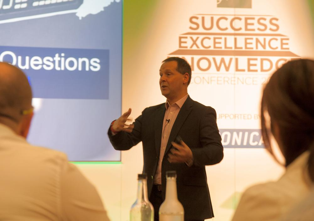 Reed speaking at the SAPCA Conference earlier this year