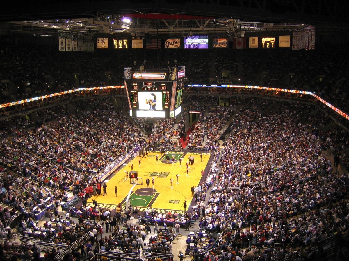 The plans include a new home for the Milwaukee Bucks basketball team