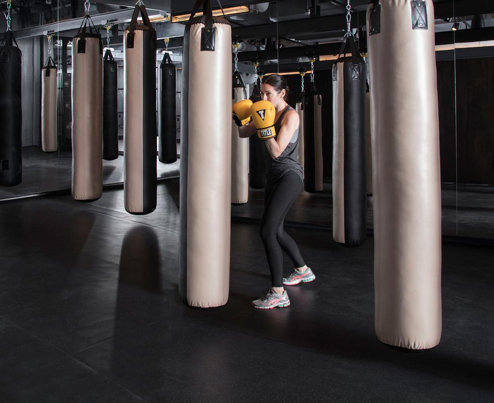Members and non-members can use the Fight studio space for boxing, kickboxing and mixed martial arts