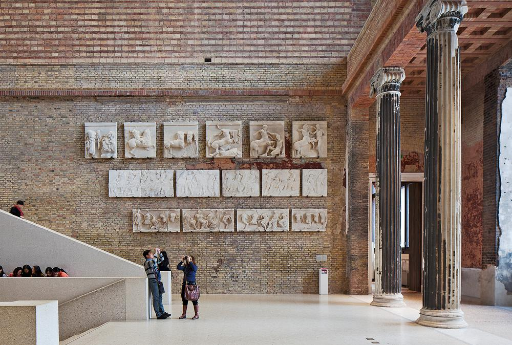The Neues Museum, Berlin, which has been restored