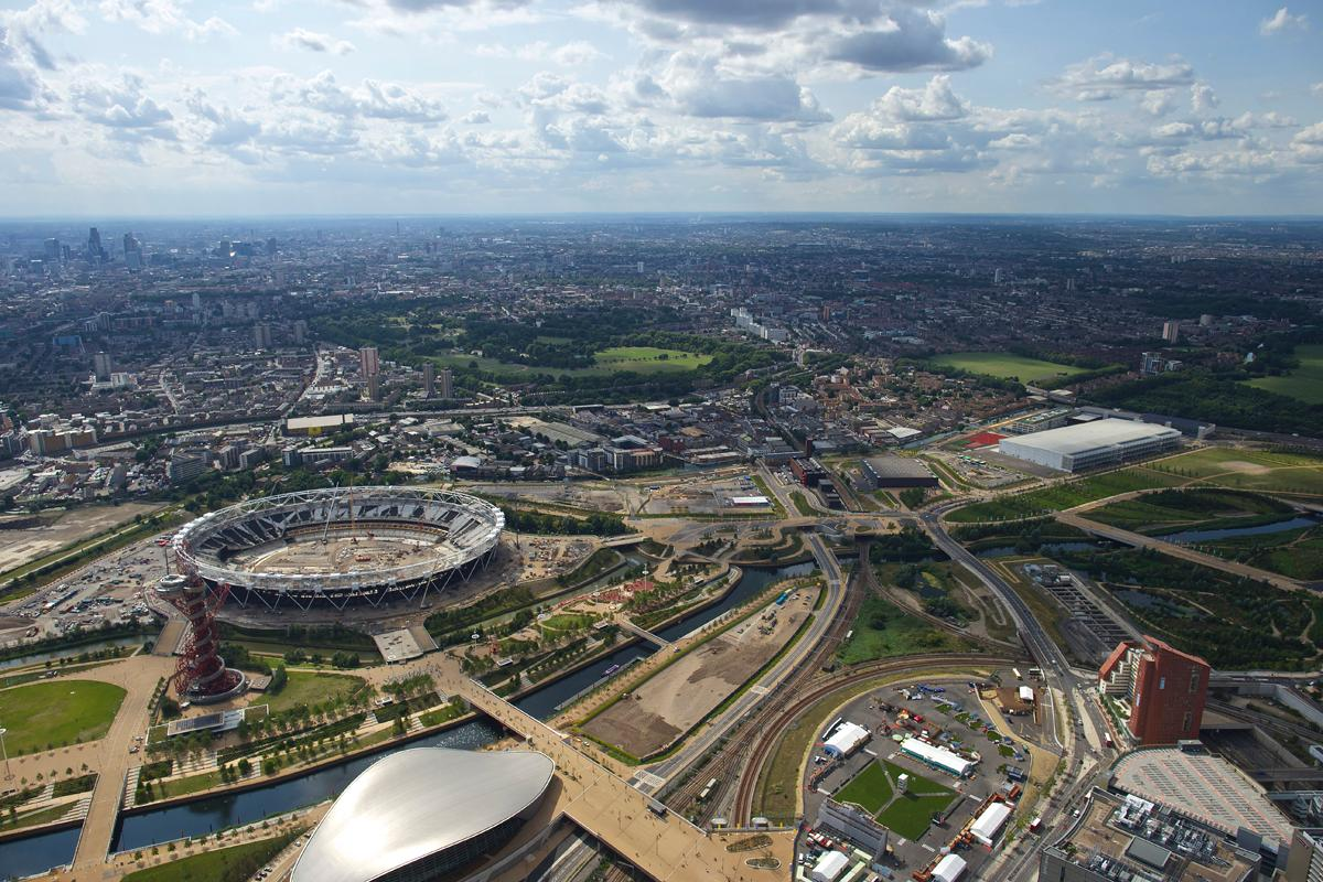 Queen Elizabeth Olympic Park, London, UK was given the Special Jury Award. / MIPIM
