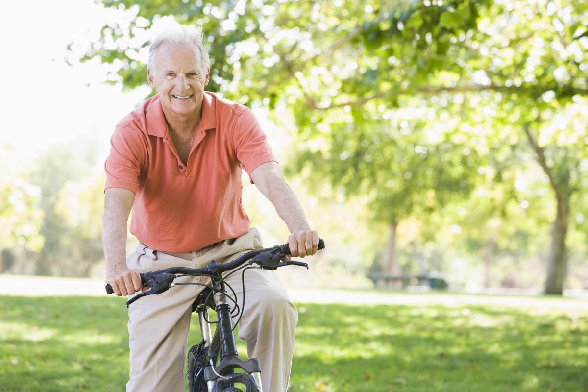 The study found that those who walked or cycled for at least 20 minutes a day decreased their risk of dying from prostate cancer. / Shutterstock: Monkey Business Images