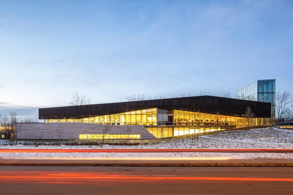 Canadian design firm Lemay has won several awards for its Bibliothèque du Boisé project