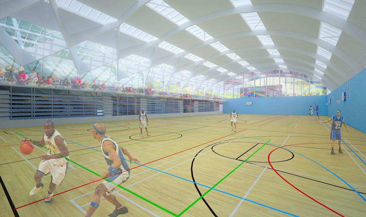 The centre has been backed by the Scottish Government and from partners, including Basketball Scotland