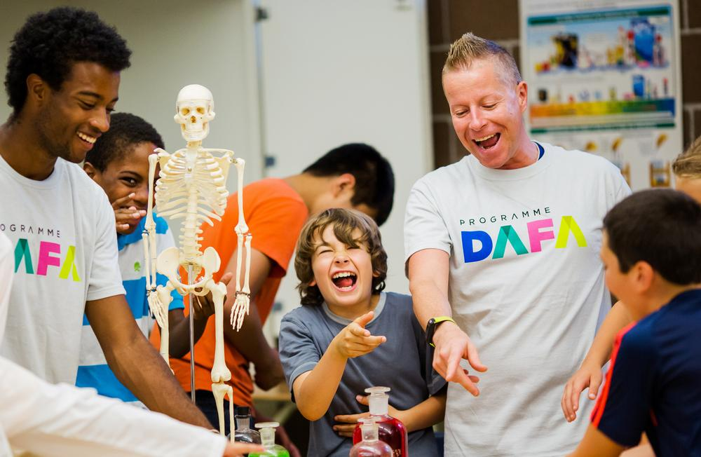 Over 400 organisations now offer DAFA-trained certified activity leaders