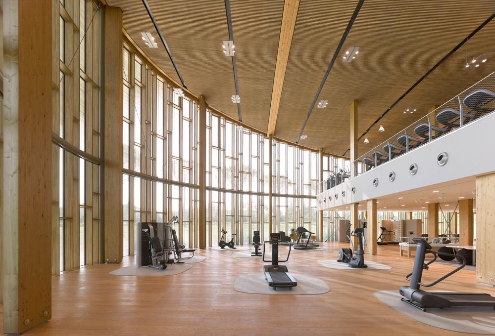 Technogym's brand new headquarters – the Wellness Village – in Cesena, Italy