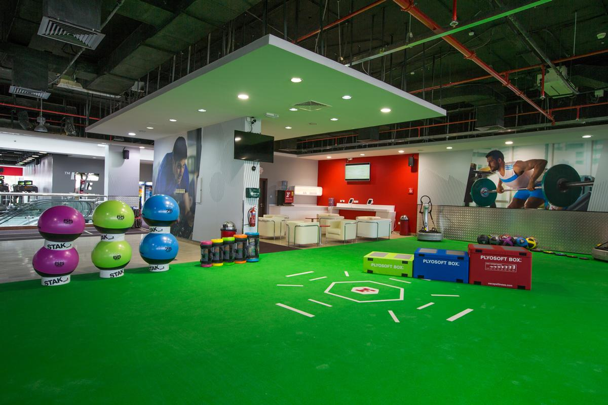 Fitness First has opened a men only club in Dubai