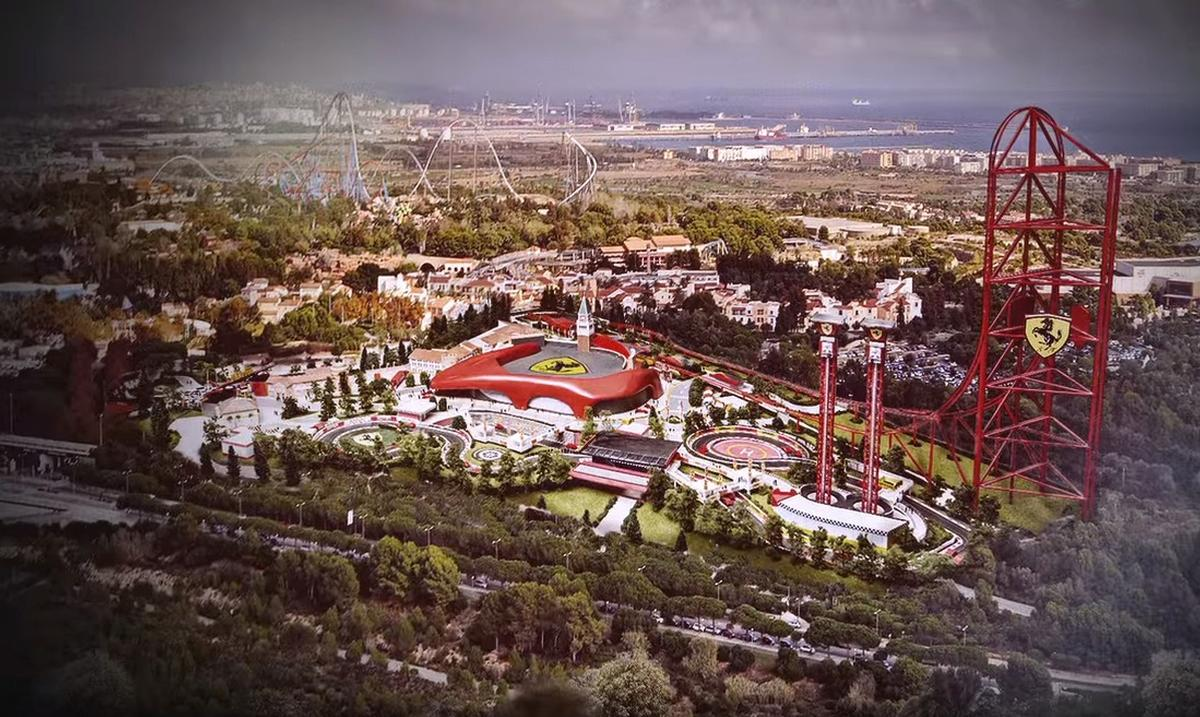 attractions management - ferrari land: new details revealed for