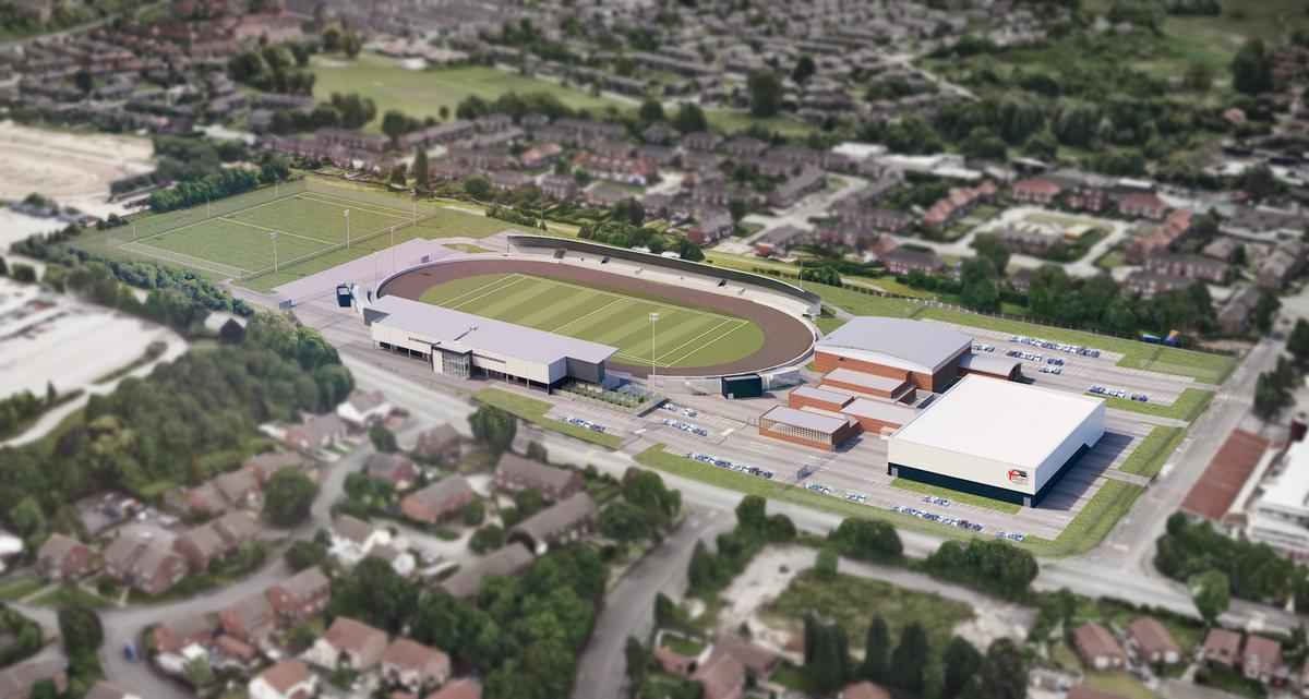 Manchester's Belle Vue Sports Village