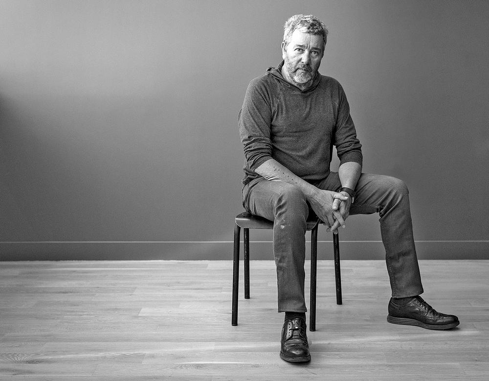 clad people philippe starck talks about his inflatable. Black Bedroom Furniture Sets. Home Design Ideas