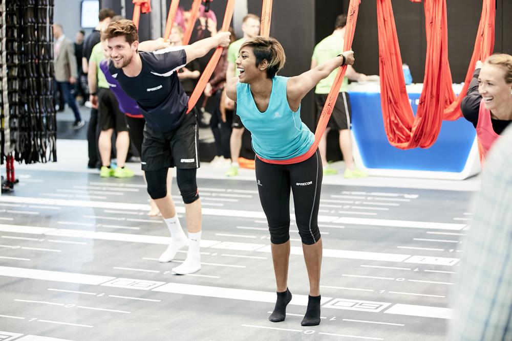 Visitors to the show will find everything that is new and innovative in fitness, like new group exercise classes