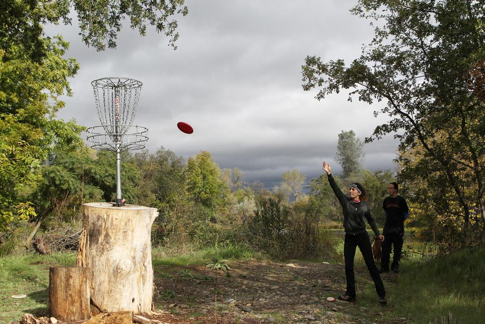 Disc golf can be played in pretty much any terrain and in any weather / andreas fuhmann / press association