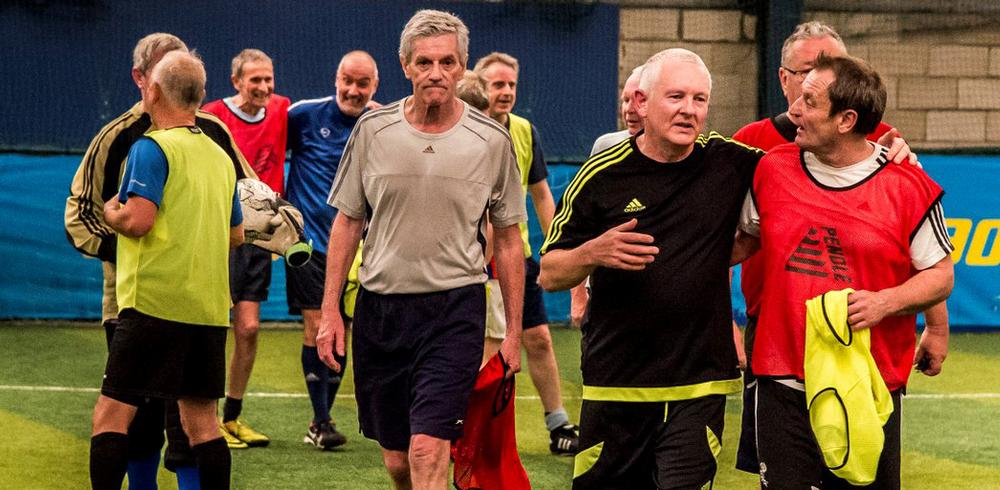 The sport was developed to give older men a physical and social outlet