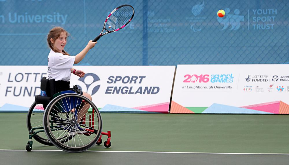 The Games are an excellent gateway to competitive sport for disabled children / Steven Paston / press association