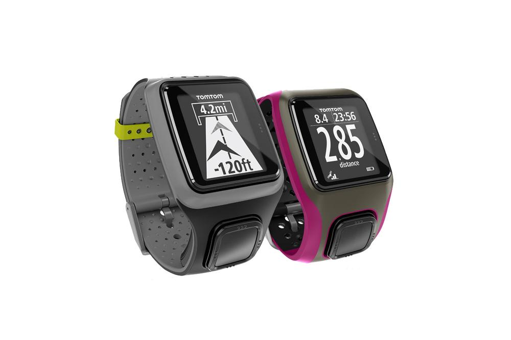 TomTom's GPS watches allow users  to track distance, swim metrics and cadence on bikes