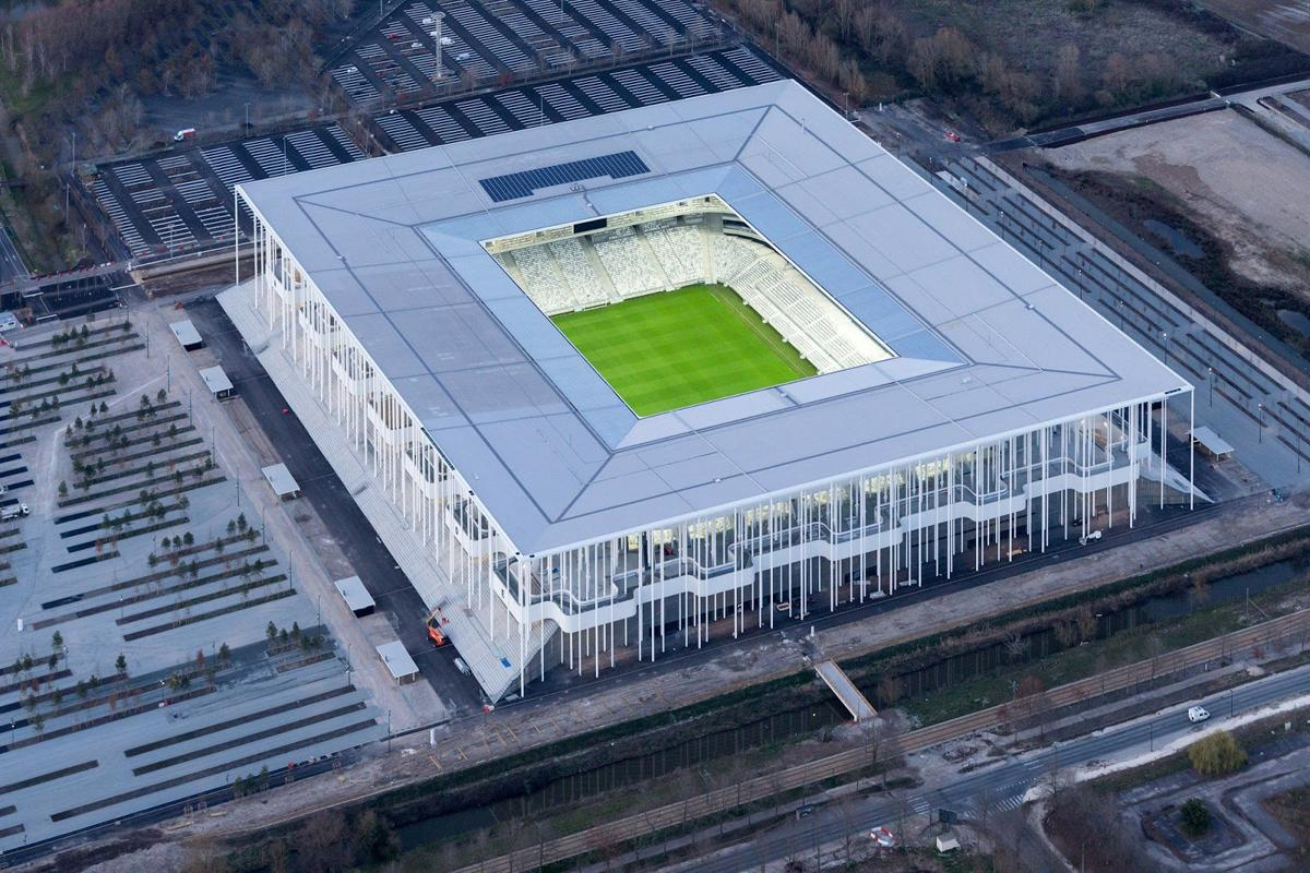 The 42,000-seat stadium hosted its inaugural match on 23 May / Iwan Baan / Herzog & de Meuron