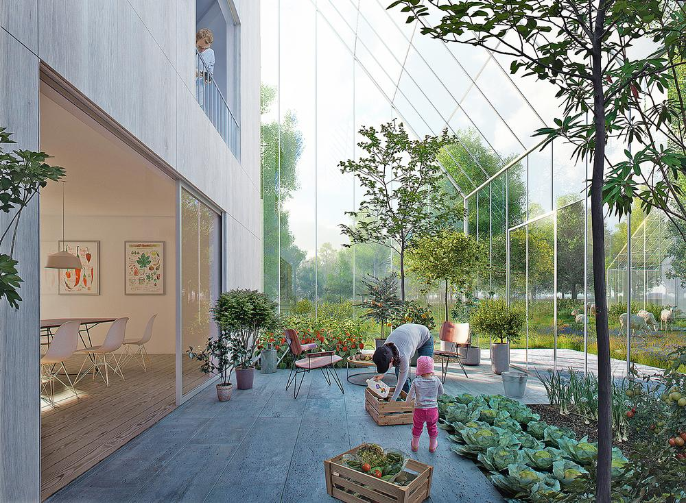ReGen Village in the Netherlands is one of more than 740 wellness communities being built / Effekt Architects