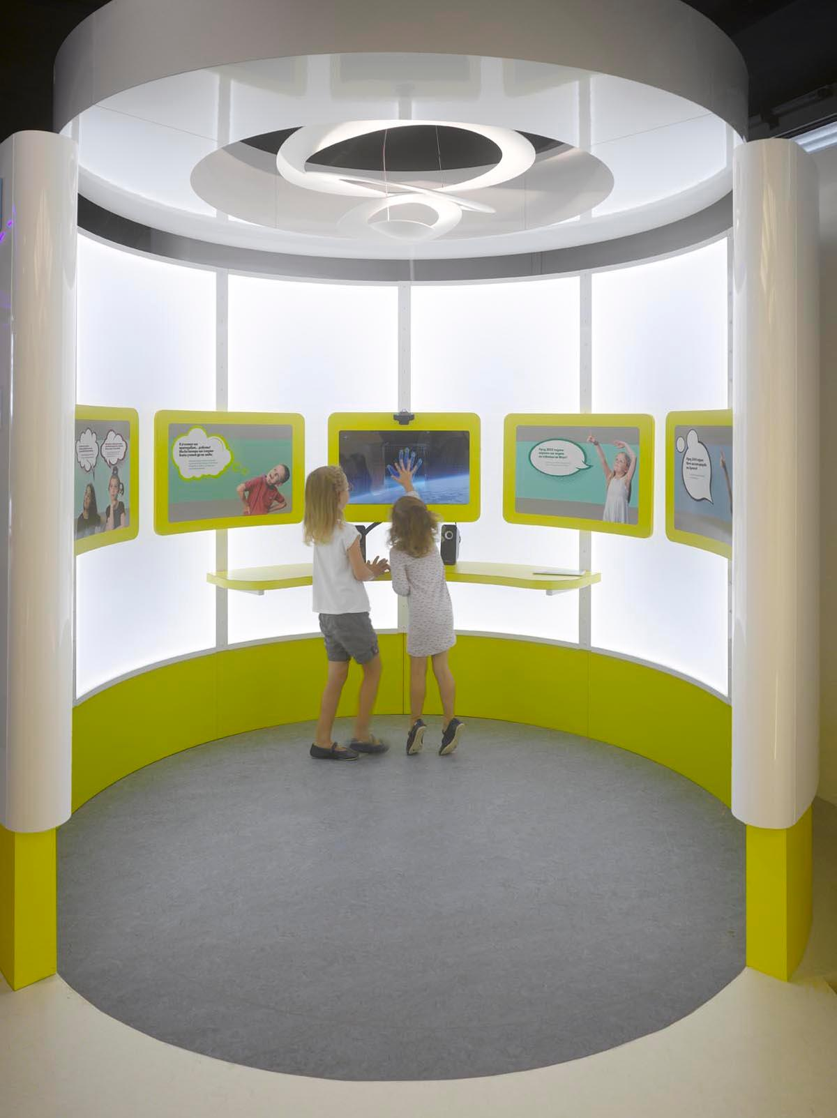 Muzeiko is the first children's museum to be built in post-Soviet Eastern Europe / Photo by Roland Halbe