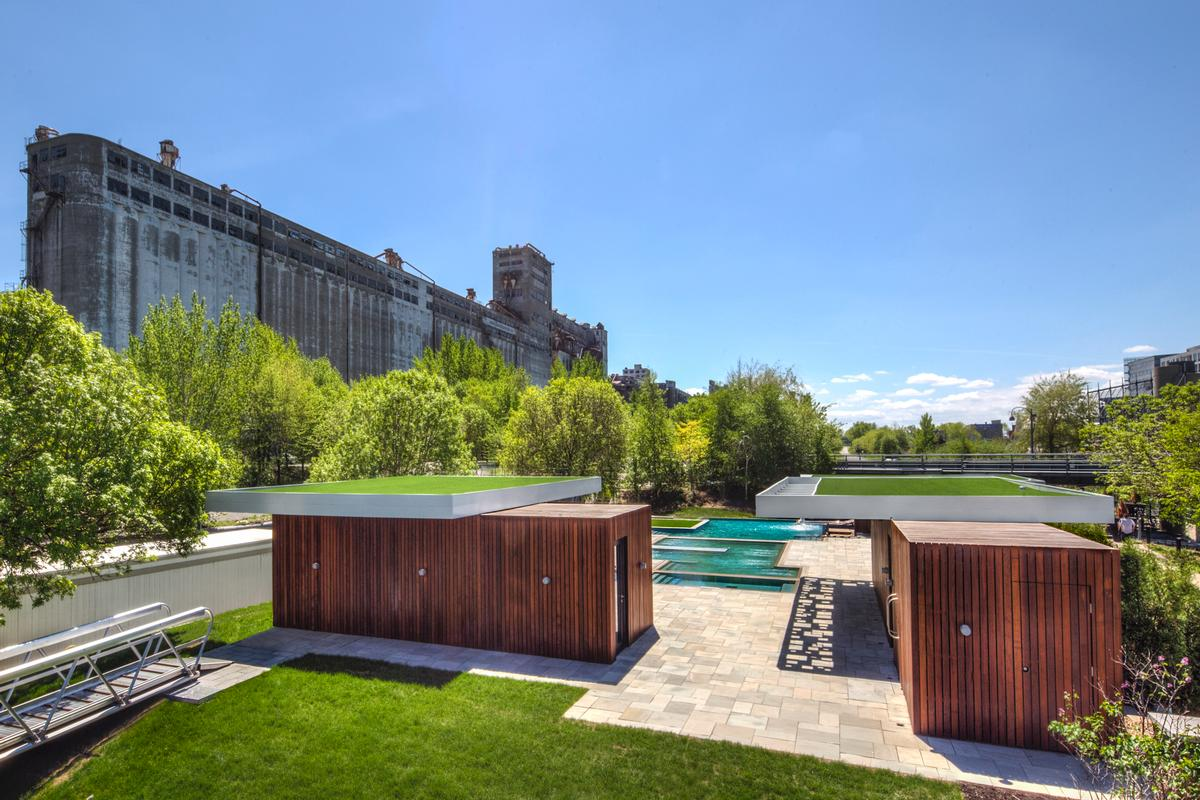 Designed by Montreal-based MU Architecture, the Bota Bota Gardens is 'an oasis of relaxation' / MU Architecture