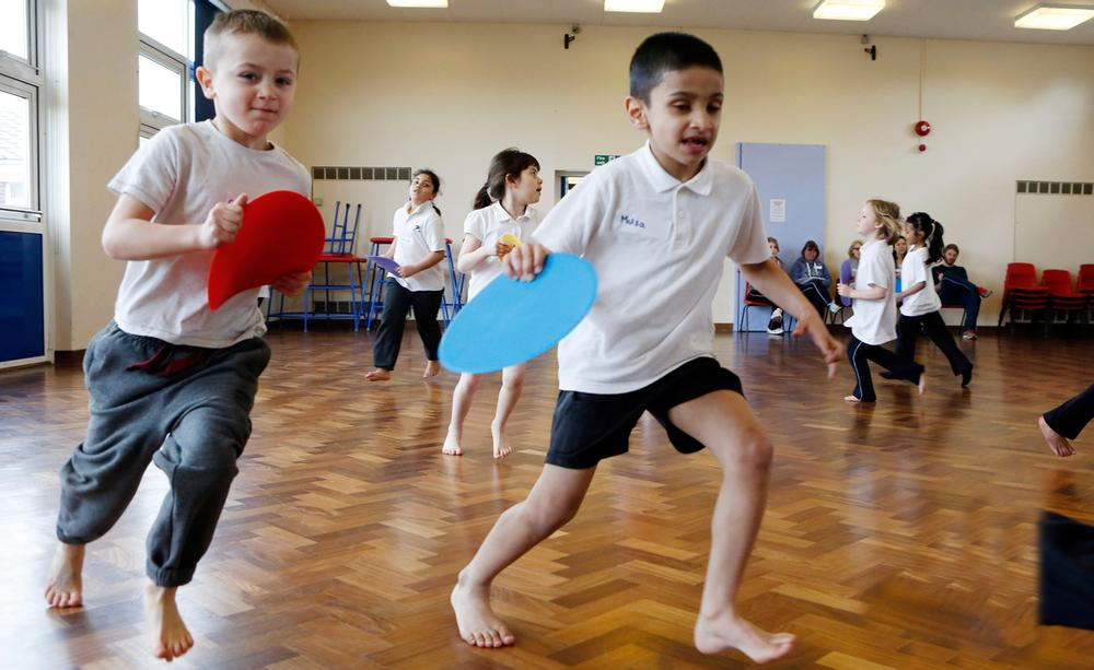 Only half of seven-year-olds in the UK are meeting recommended physical activity guidelines