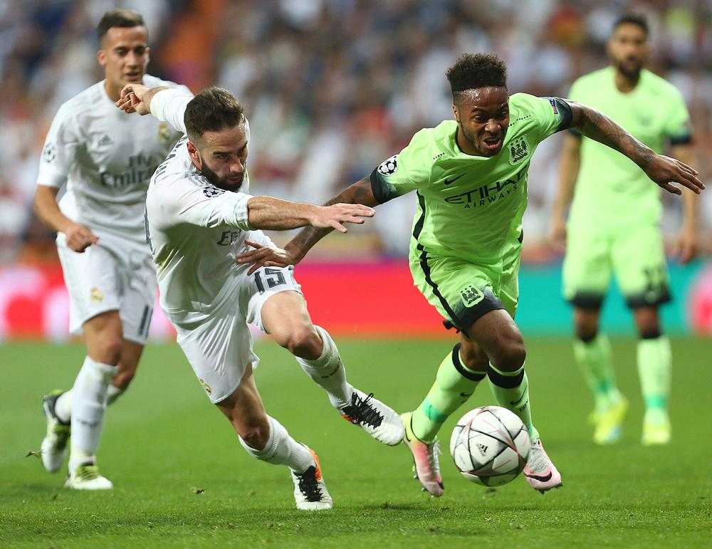 Players reliant on speed, such as Raheem Sterling are predicted to peak earlier than those who don't / philip oldham/sportsimage/PA images
