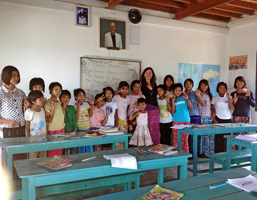 The Foundation supports projects in Myanmar and Sri Lanka