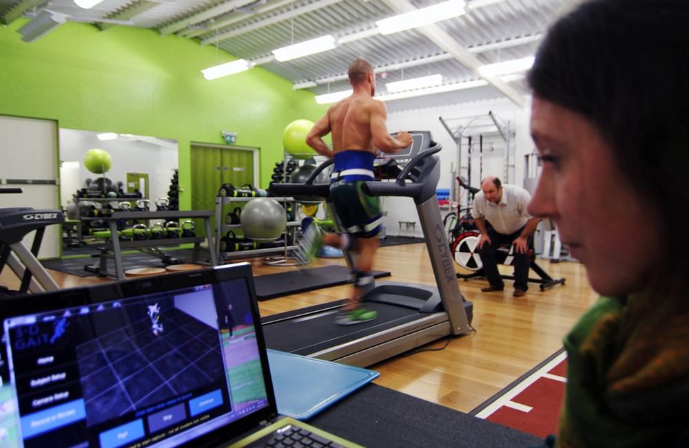 Run 3D operates what it says is the UK's first 3D motion analysis service