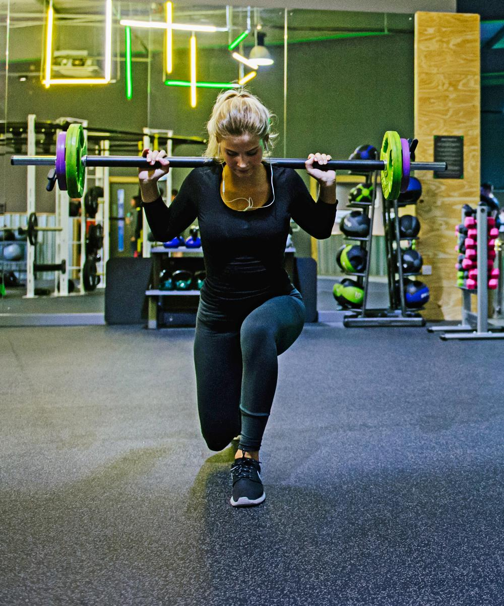 There's a strong focus on free weight areas at the clubs