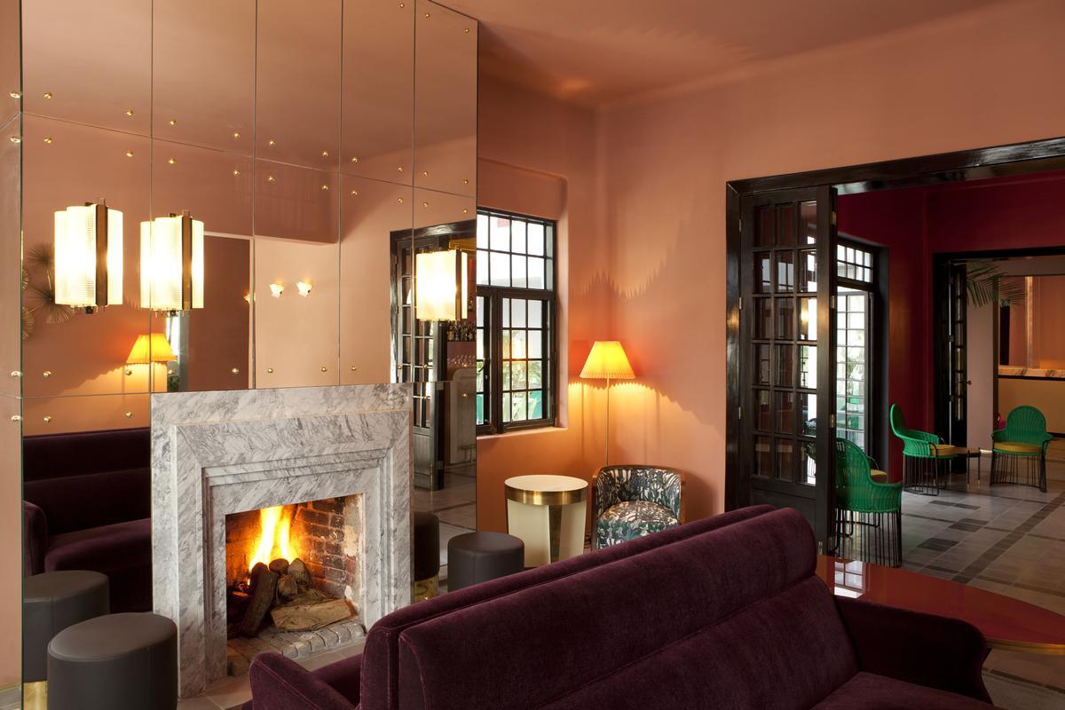 spa business grupo habita unveil art deco inspired hotel in
