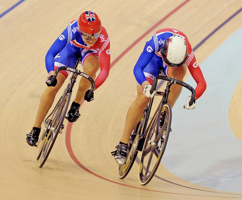 Jess Varnish (left) competing in 2012 before she opened up about bullying and sexism in British Cycling / © Tim Ireland/PA Archive/PA Images