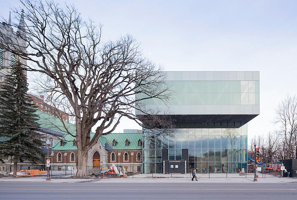 OMA's new Pierre Lassonde Pavilion opened in Quebec on 24 June  / Photos Pierre Lassonde Pavilion: Iwan Baan