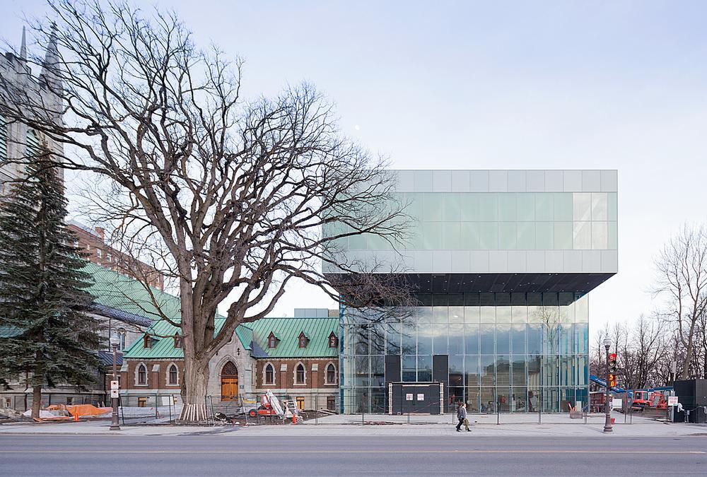 OMA's new Pierre Lassonde Pavilion opened in Quebec on 24 June / Photos Pierre Lassonde Pavilion: Iwan Baan