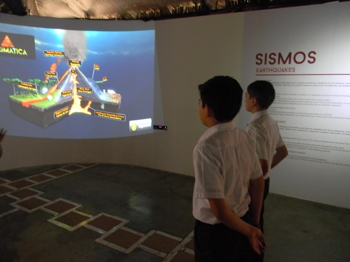 An entire exhibition has been built around the simulator, which is the climactic end to the experience