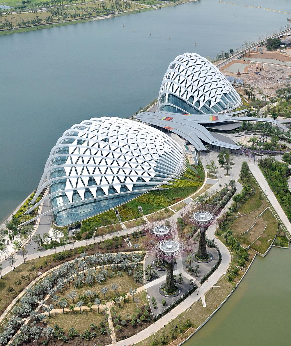 Gardens by the Bay in Singapore / PHOTOS: Atelier Ten