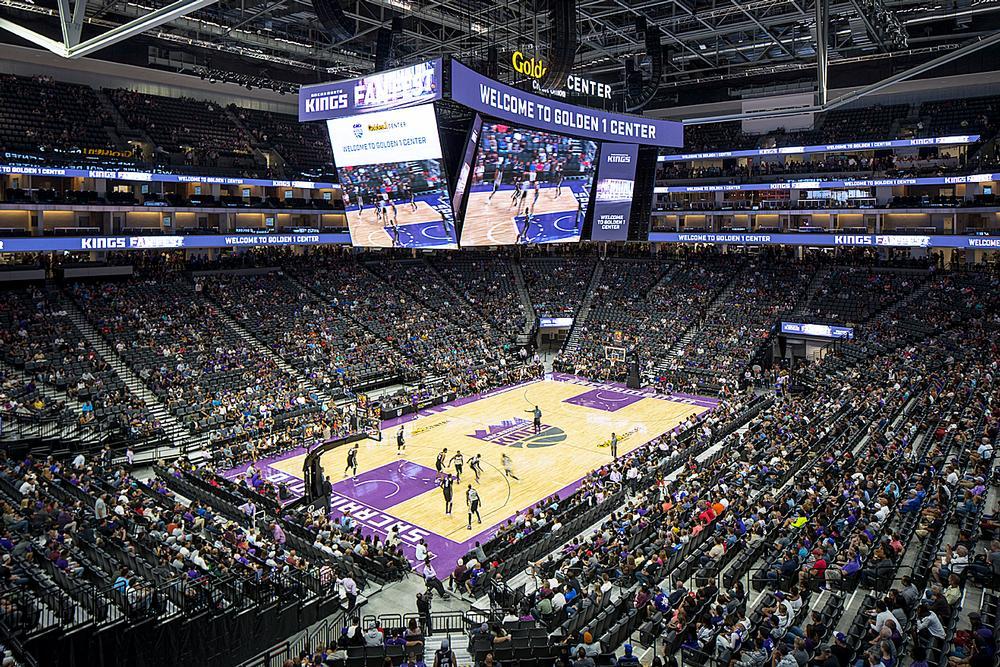 Golden 1 Center is home to the NBA's Sacramento Kings / PHOTO: ROBB WILLIAMSON