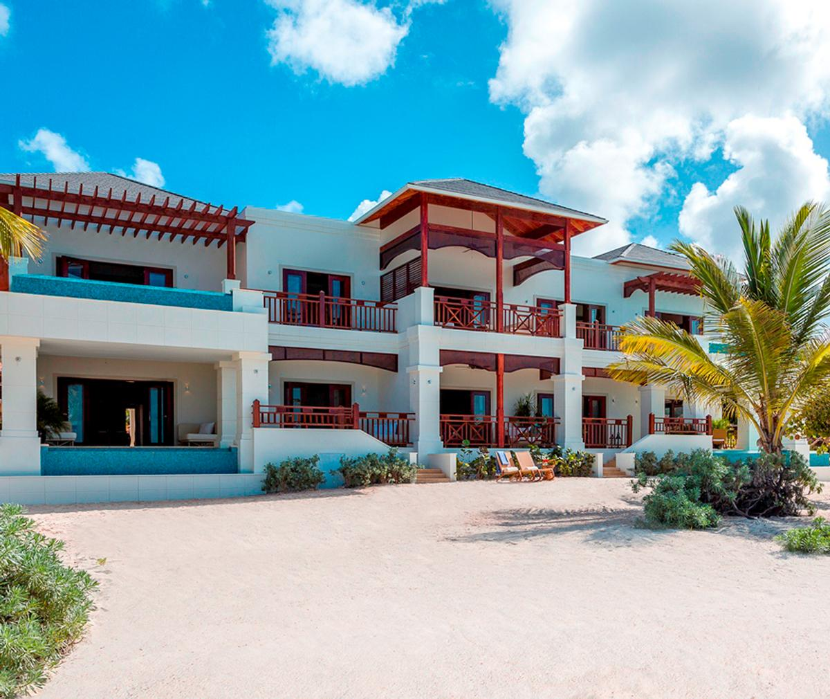Designed by Caribbean architect Lane Pettigrew, Zemi Beach House's architecture was inspired by Anguilla's natural environment, blending modern, clean lines with classic Caribbean building details / Thierry DeHove Zemi Beach