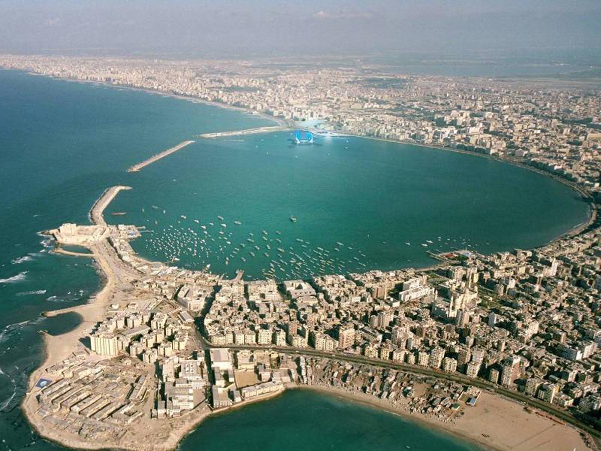 The development will sit inside Alexandria Bay / UNESCO
