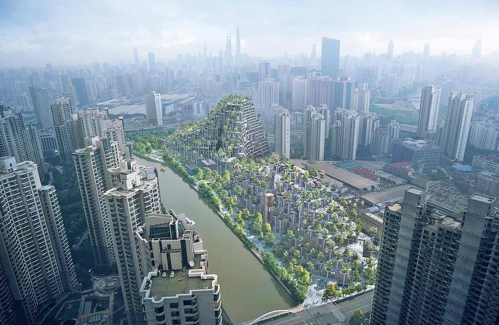 Moganshan, a mixed-use development in Shanghai