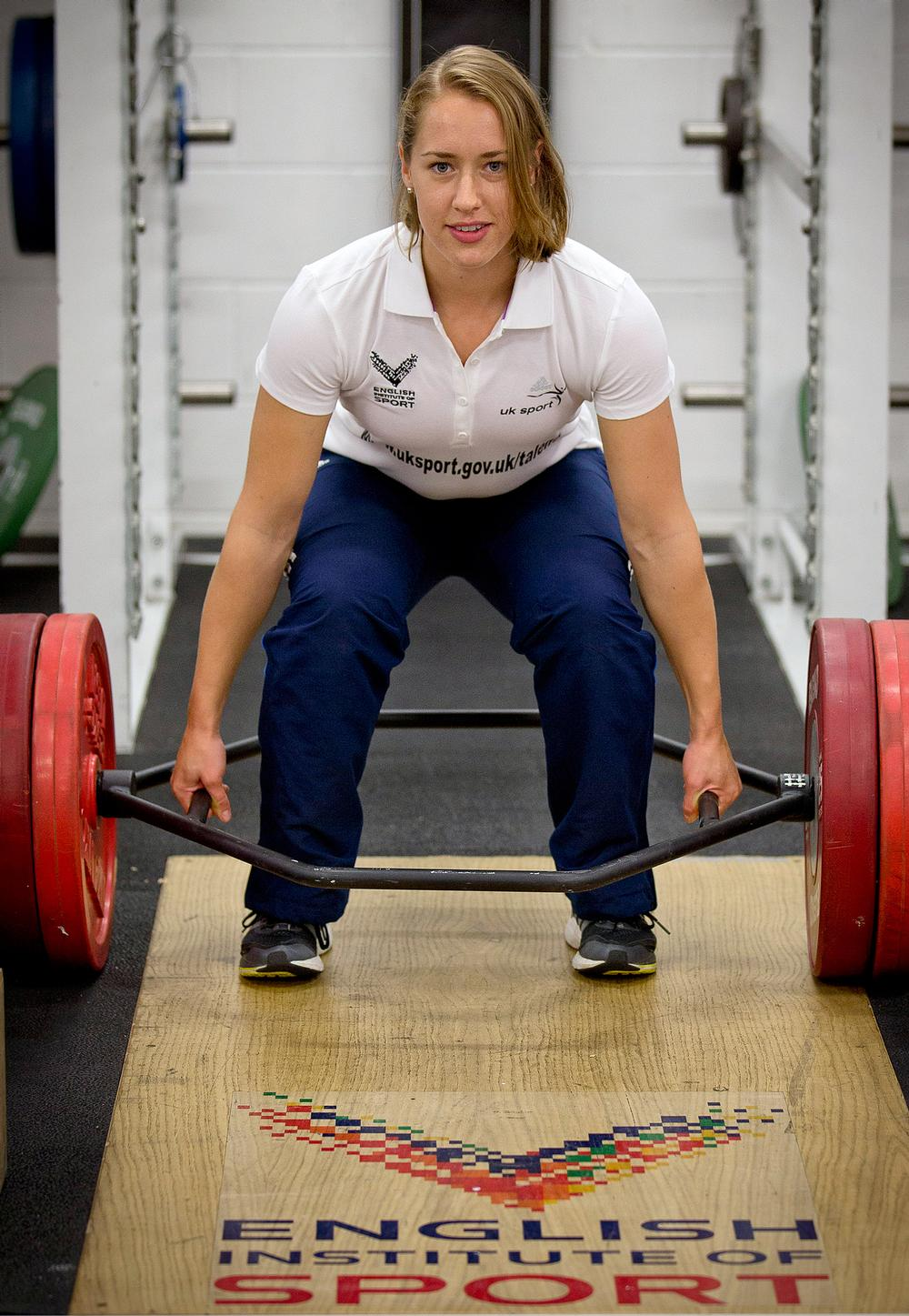 The EIS helped to identify Lizzie Yarnold and worked with her to prepare for Sochi 2014