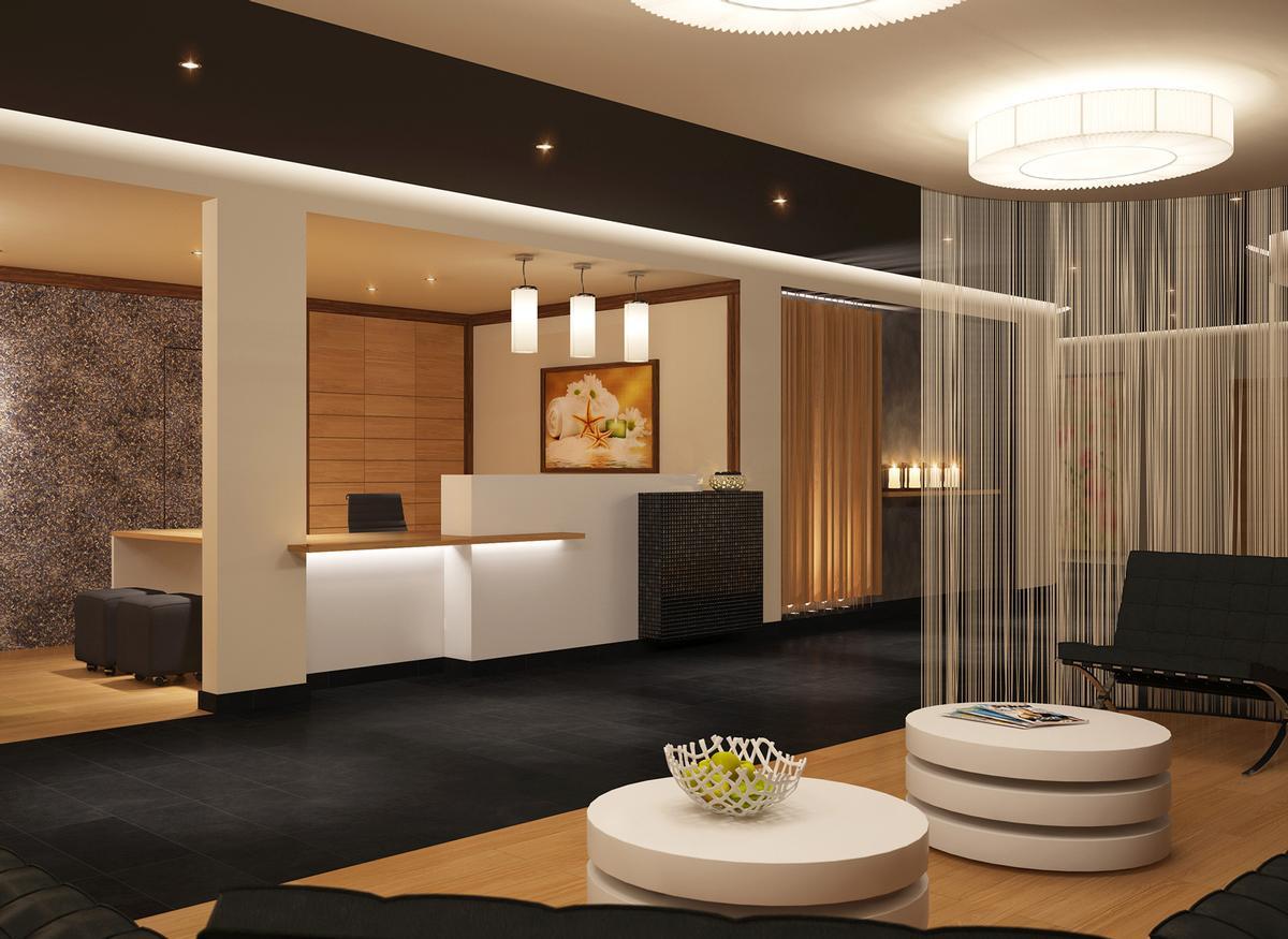 Riene designed the buildings while thermarium is for M concept interior design